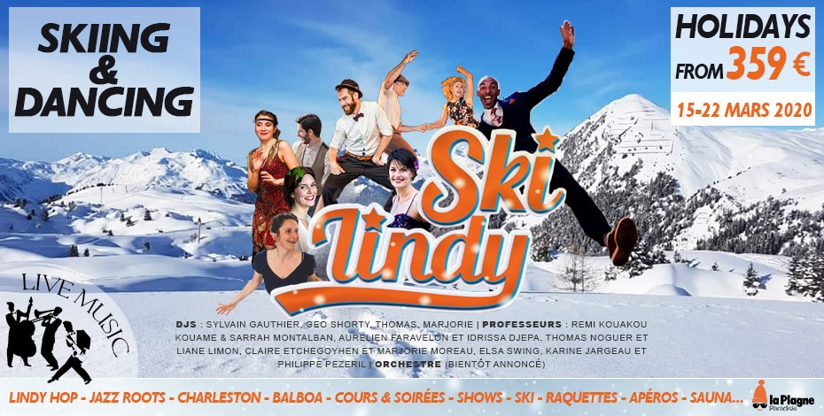 Ski Lindy at La Plagne