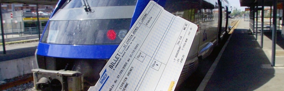 Kelbillet : billets de train d'occasion